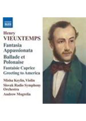 Vieuxtemps: Music for Violin & Orchestra (Music CD)
