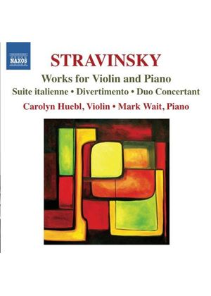 Stravinsky: Works for Violin and Piano (Music CD)