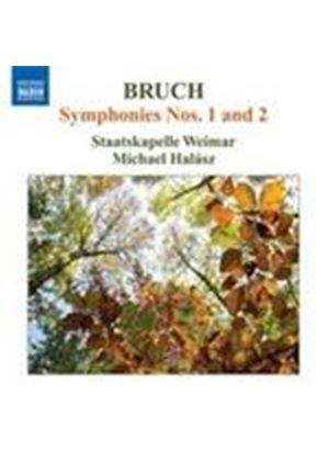 Bruch: Symphonies Nos 1 & 2 (Music CD)