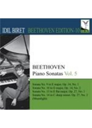 Beethoven: Piano Sonatas Vol. 5 (Music CD)