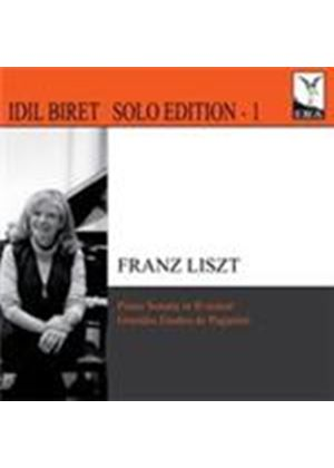 Liszt: Piano Sonata; Six Paganini Etudes (Music CD)