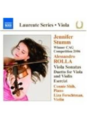 Rolla: Sonatas for Viola and Piano (Music CD)