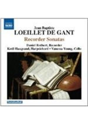 Loeillet: Sonatas or Solos for a Flute, Op. 1-4 (Music CD)