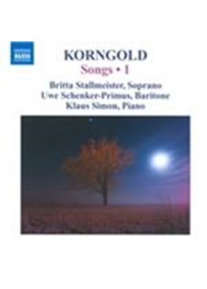 Korngold: Songs, Vol. 1 (Music CD)