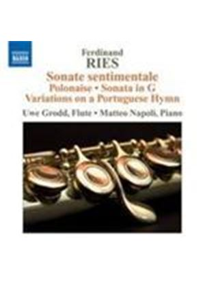 Ries: Works for Flute and Piano (Music CD)