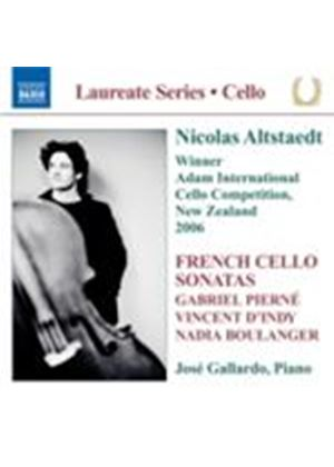 Boulanger; D\\'Indy; Pierne: Cello Sonatas (Music CD)