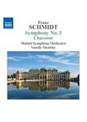Schmidt: Symphony No 3 (Music CD)