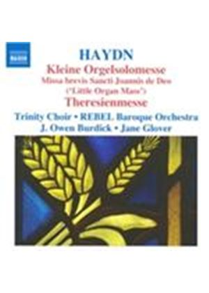 Haydn: Kleine Orgelsolomesse; Theresienmesse (Music CD)