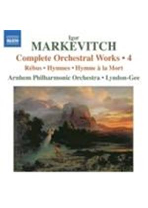 Markevitch: Complete Orchestral Works, Vol 4 (Music CD)