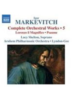Markevitch: Complete Orchestral Works Vol.5 (Music CD)