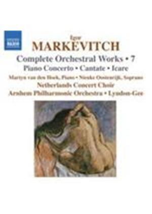 Markevitch: Complete Orchestral Works, Vol 7 (Music CD)