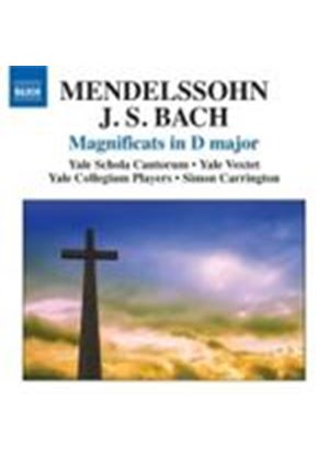 Bach; Medelssohn: Magnificats in D (Music CD)