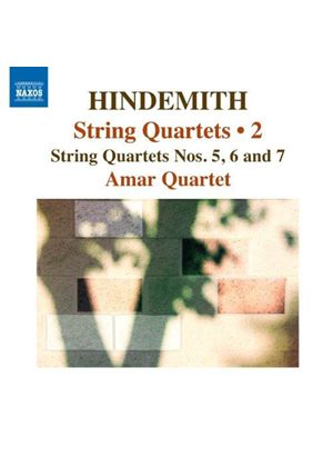 Hindemith: String Quartets, Vol. 2 (Music CD)