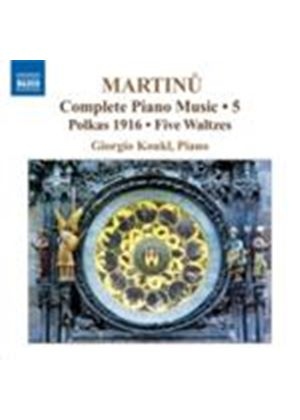 Martinu: Complete Piano Works Vol 5 (Music CD)
