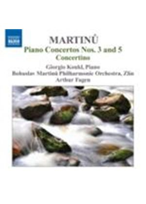 Martinu: Piano Concerto No.3 & 5 (Music CD)