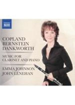 Bernstein; Copland; Dankworth: Clarinet and Piano Works (Music CD)