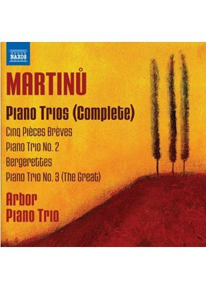 Martinu: Complete Piano Trios (Music CD)