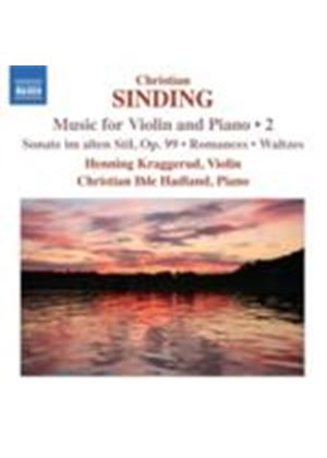 Sinding: Music for Violin & Piano Vol.2 (Music CD)