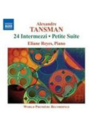 Tansman: (24) Intermezzi (Music CD)