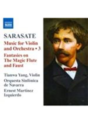 Pablo Sarasate: Music for Violin & Orchestra, Vol. 3 (Music CD)