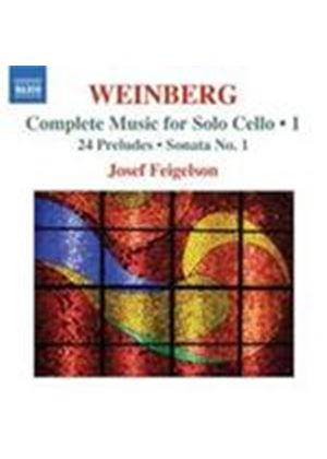 Weinberg: Solo Cello Works, Vol 1 (Music CD)