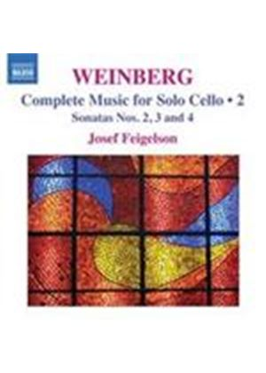 Weinberg: Solo Cello Works (Music CD)