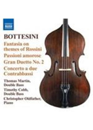 Bottesini: Fantasia on themes of Rossini (Music CD)