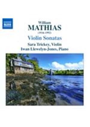 William Mathias: Violin Sonatas (Music CD)
