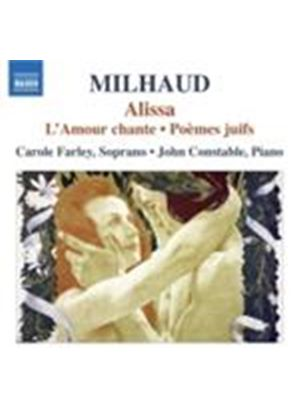 Milhaud: Soprano Song Cycles (Music CD)