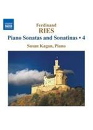 Ries: Complete Sonatas and Sonatinas, Vol 4 (Music CD)
