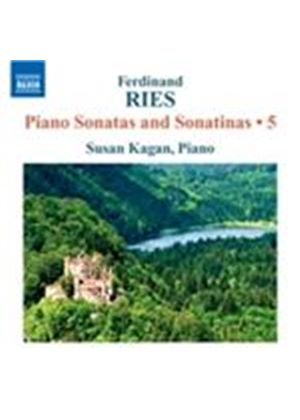 Ferdinand Ries: Piano Sonatas and Sonatinas, Vol. 5 (Music CD)