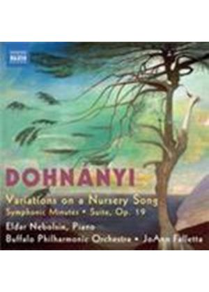 Dohnanyi: Variations on a Nursery Song (Music CD)