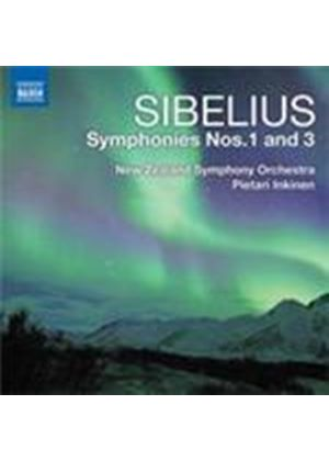 Sibelius: Symphonies Nos 1 and 3 (Music CD)