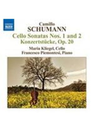 Schumann, C: Cello Sonatas (Music CD)