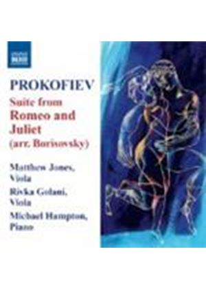 Sergey Prokofiev: Excerpts from Romeo And Juliet Arr. for Viola And Piano (Music CD)