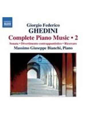 Ghedini: Piano Works, Vol 2 (Music CD)