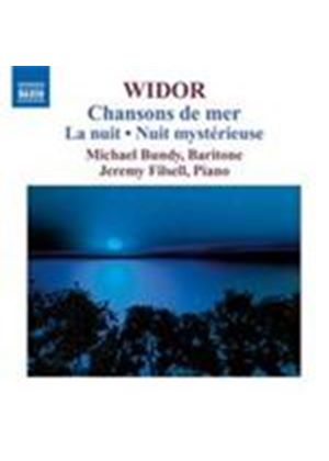 Widor: Chansons de mer (Music CD)