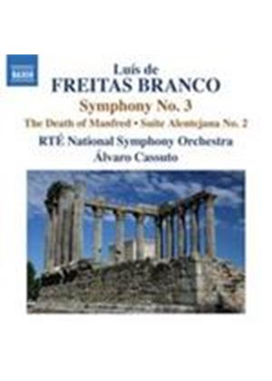 Freitas Branco: Orchestral Works Vol.3 (Music CD)