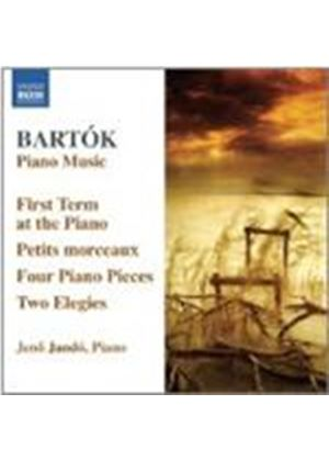 B�la Bart�k: The First Term at the Piano (Music CD)