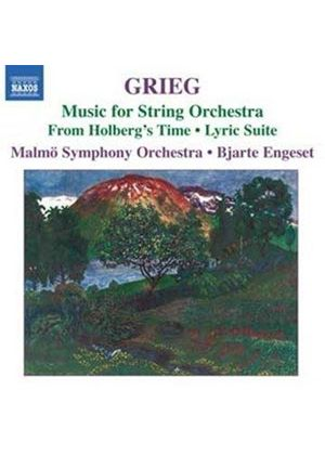 Grieg: Music for String Orchestra (Music CD)