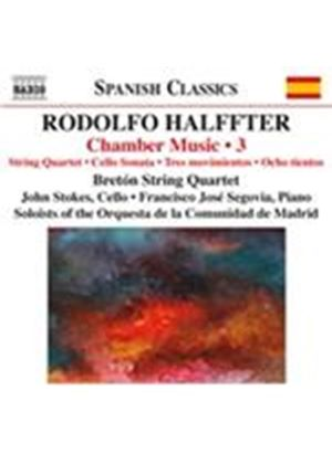 Rodolfo Halffter: Chamber Music, Vol. 3 (Music CD)