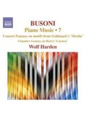 Busoni: Piano Works, Vol 7 (Music CD)