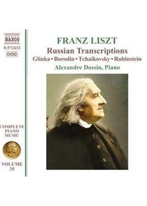 Liszt: Russian Transcripts, Vol. 35 (Music CD)