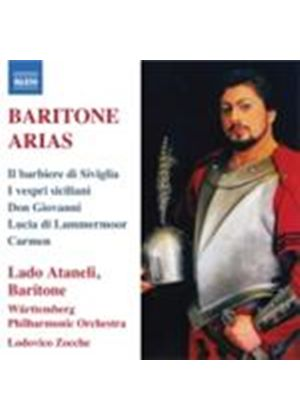 Baritone Arias (Music CD)