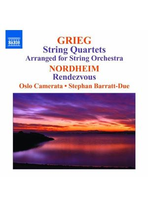 Grieg: String Quartets Arranged for String Orchestra; Nordheim: Rendezvous (Music CD)