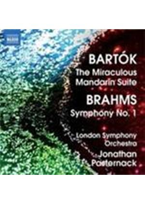 Bartok: Suite from the Miraculous Mandarin; Brahms: Symphony No 1 (Music CD)