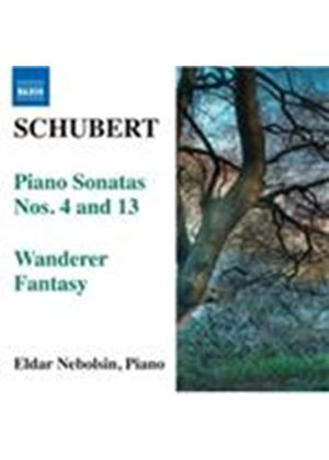 Schubert: Piano Sonatas Nos. 4 & 13; Wanderer Fantasy (Music CD)