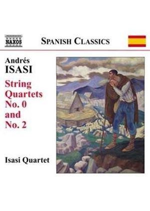 Andrés Isasi: String Quartets (Music CD)
