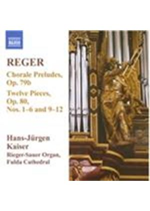 Max Reger: Chorale Preludes; Twelve Pieces Nos. 1-6 and 9-12 (Music CD)