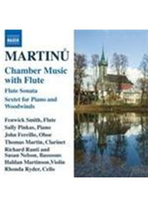 Martinu: Sonata for Flute; Sextet (Music CD)